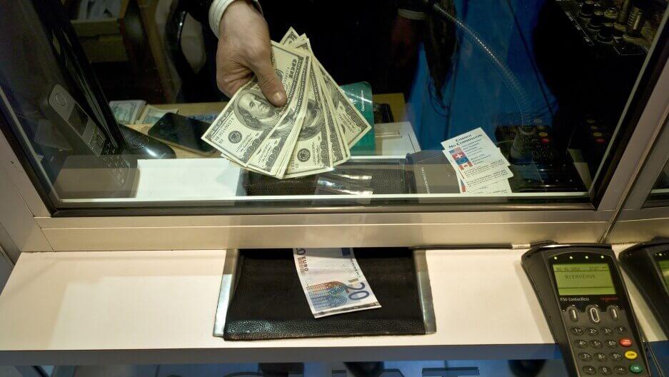 Evitar estafas en casas de cambio